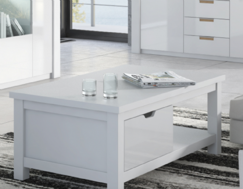 Ice White High Gloss Coffee Table P9RXAR90 - 2915